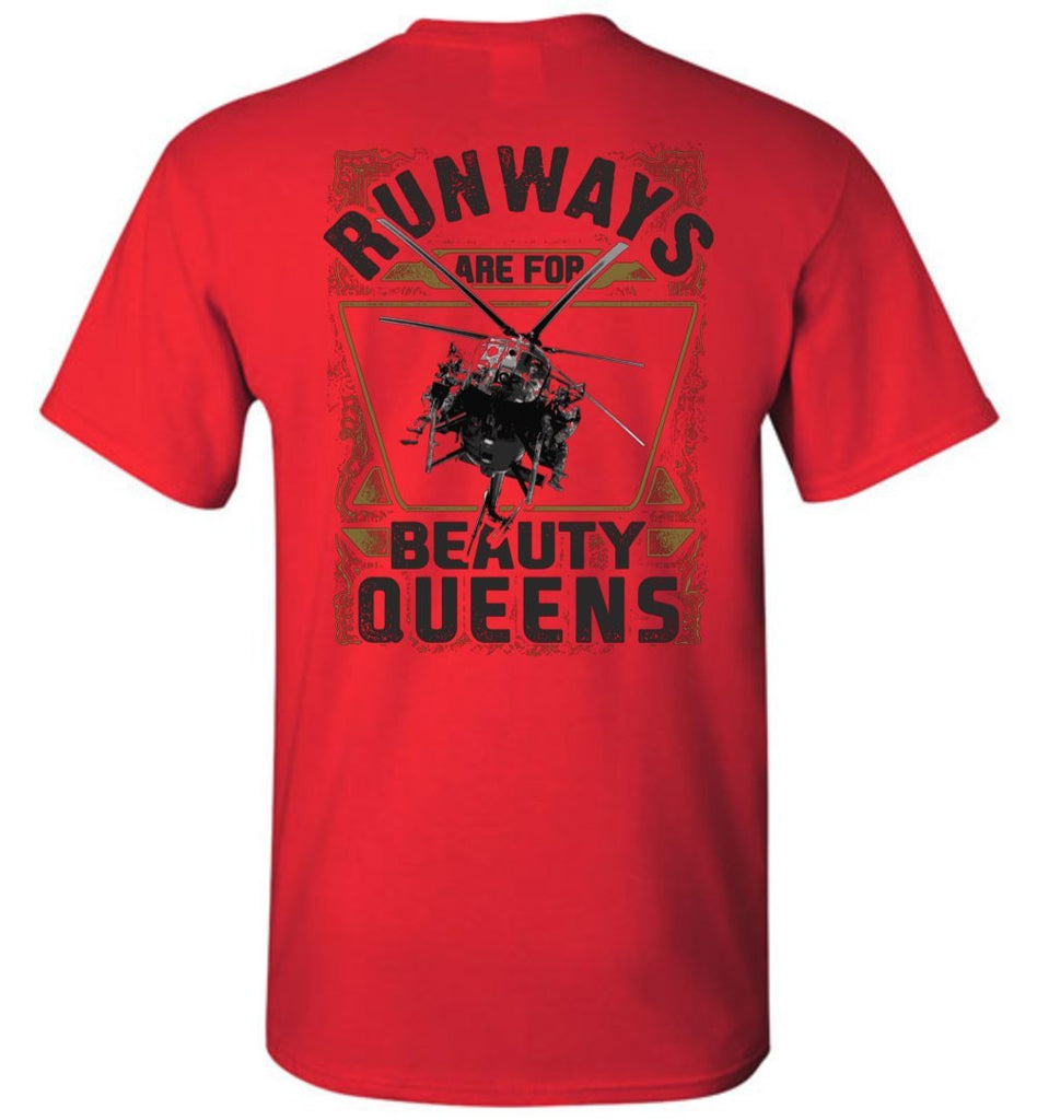 T-shirt - Runways Are For Beauty Queens MH-6 Shirt