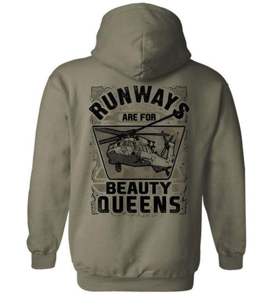 T-shirt - Runways Are For Beauty Queens UH-60 Shirt!