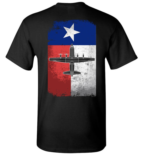 T-shirt - Texas Vintage Flag Shirt