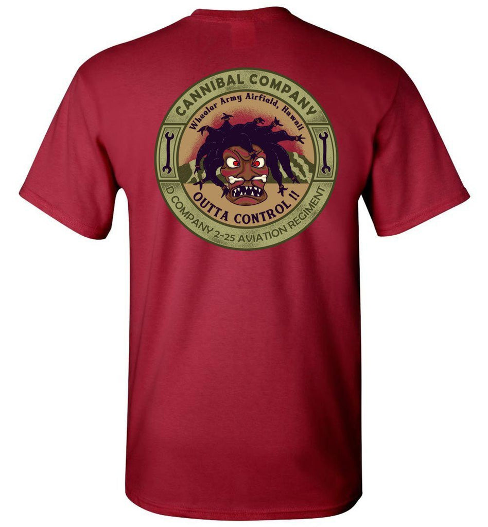 T-shirt - The Cannibals Outta Control Shirt!