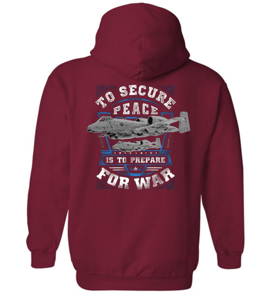 T-shirt - To Secure Peace A-10 Hoodie
