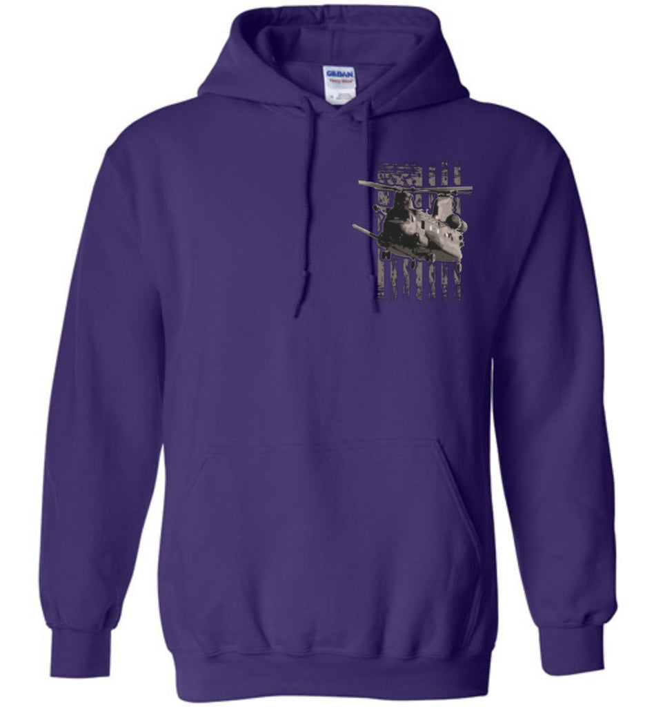 T-shirt - To Secure Peace Is To Prepare For War MH-47 Hoodie