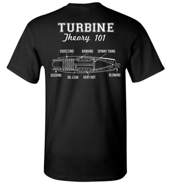 T-shirt - Turbine Theory 101 Shirt