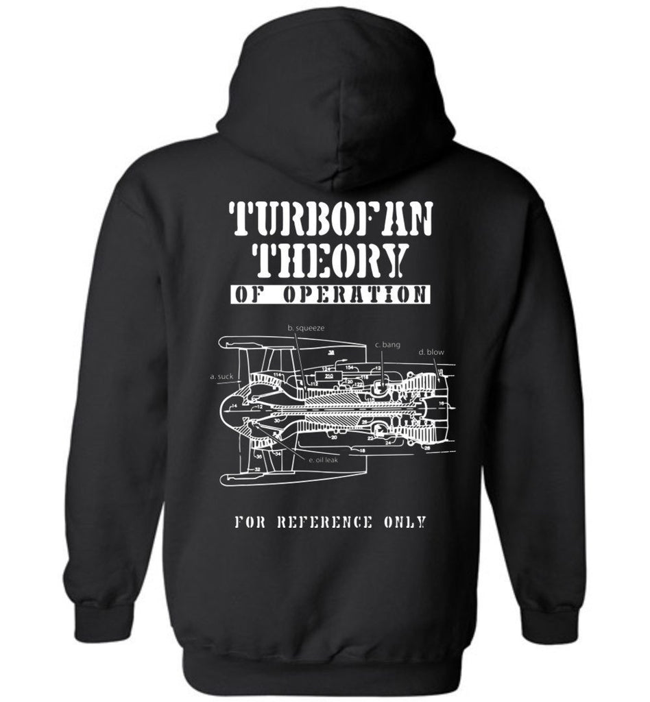 T-shirt - TurboFan Theory Of Operation Hoodie