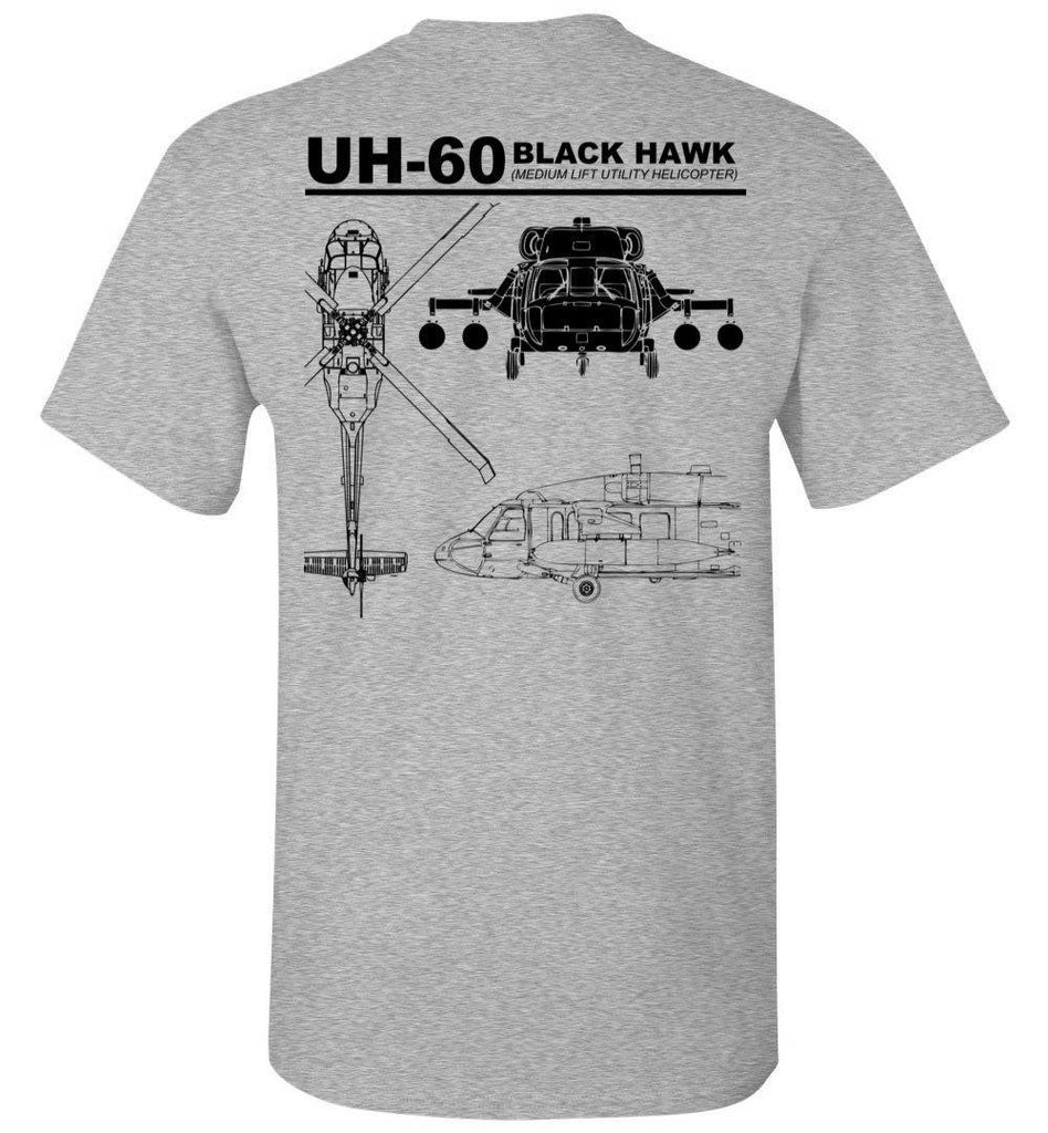 T-shirt - UH-60 Black Hawk Label Shirt
