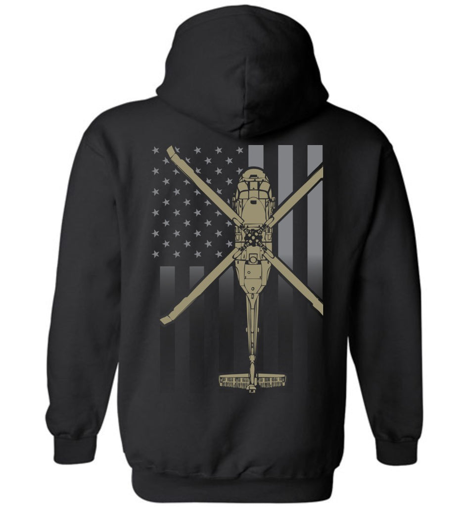 T-shirt - UH-60 Subdued Flag Hoodie