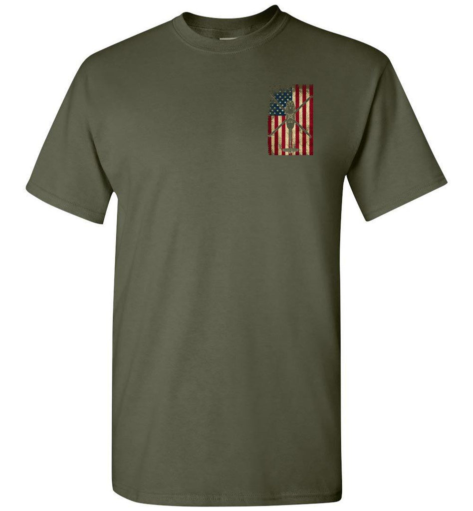 T-shirt - UH-60 Vintage Flag Shirt