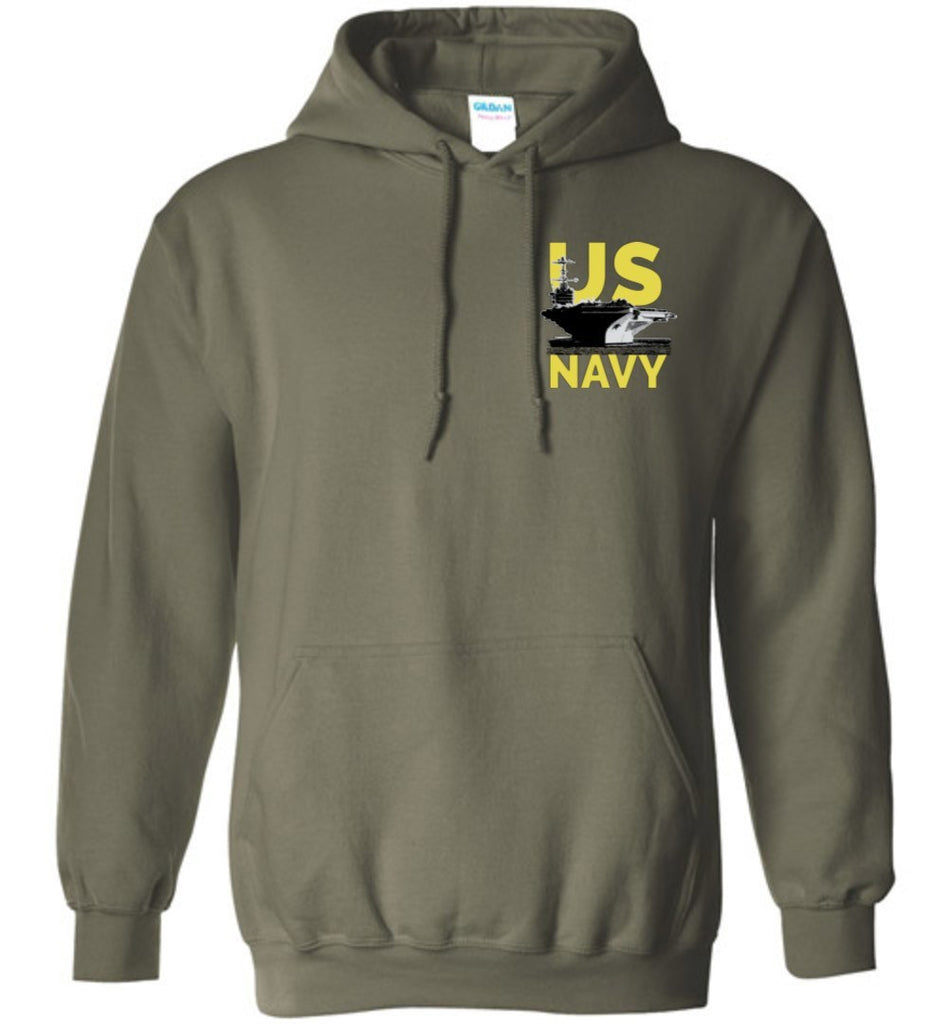 T-shirt - US Navy Carrier Flag Hoodie