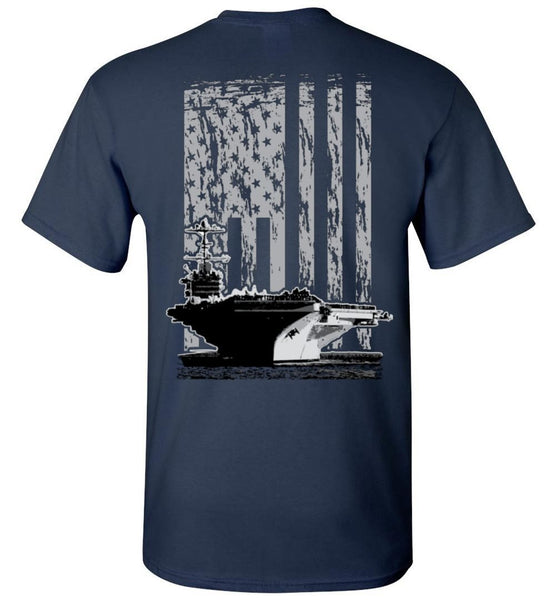 T-shirt - US Navy Carrier Flag Shirt