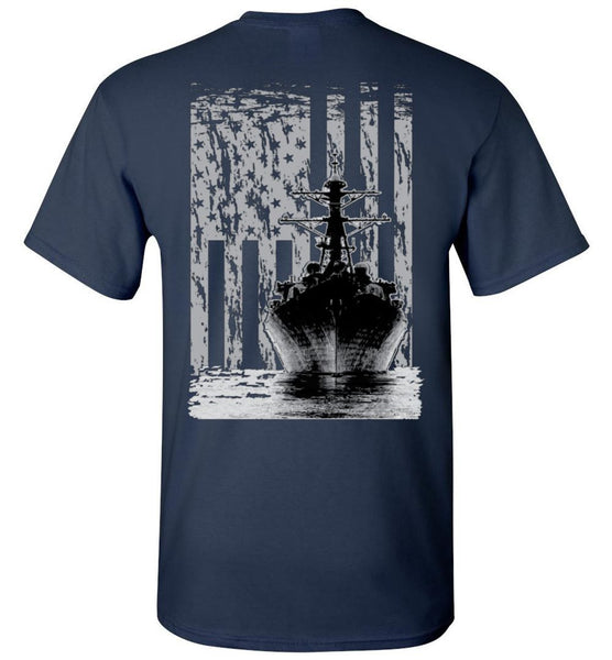 T-shirt - US Navy Destroyer Flag Shirt