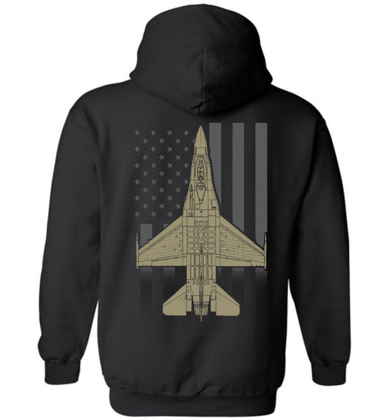 T-shirt - Viper Faded Flag Hoodie