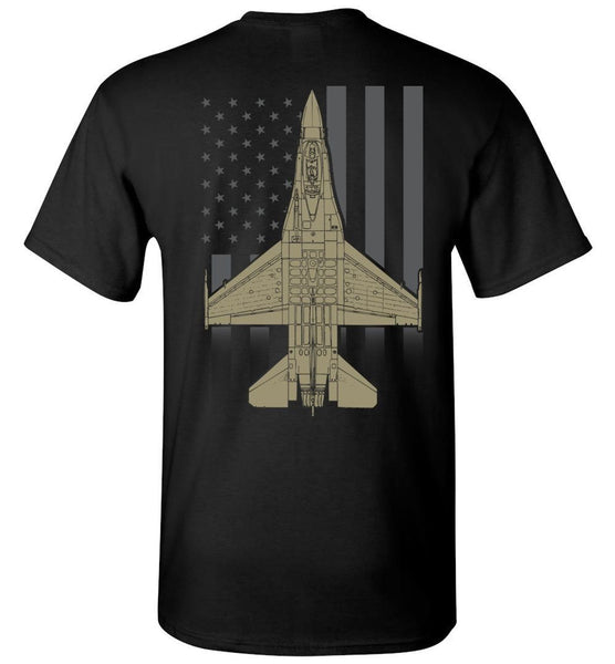 T-shirt - Viper Faded Flag Shirt