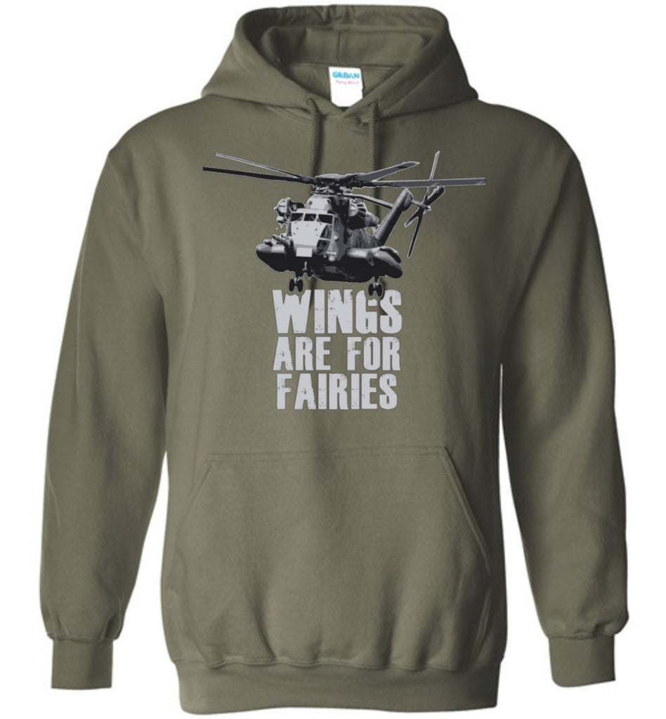 T-shirt - Wings Are For Fairies CH-53 Hoodie