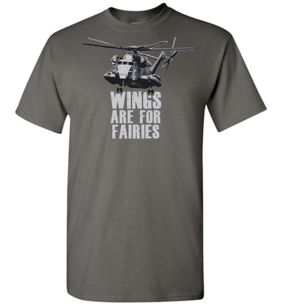 T-shirt - Wings Are For Fairies CH-53 Shirt