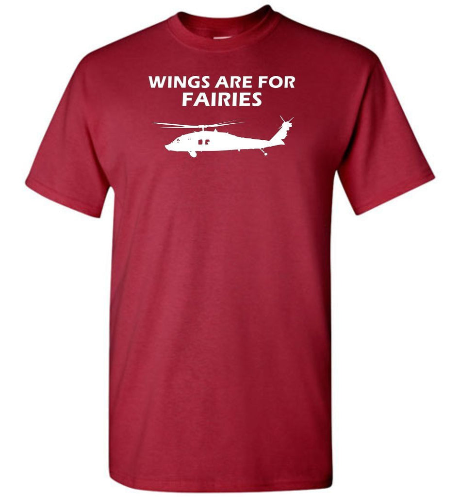 T-shirt - Wings Are For Fairies UH-60 Shirt