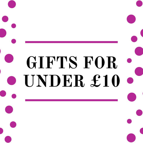 Gifts Under £10- Presents for sale at small prices. gift ideas for him and her.