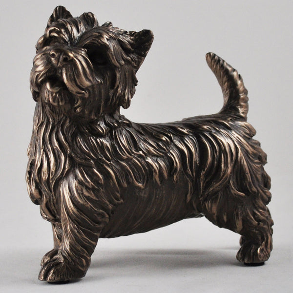 West Highland Terrier Cold Cast Bronze Sculpture - Prezents.com