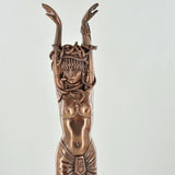 Medusa Challenge, Greek Mythology Cold Cast Bronze Sculpture - Prezents.com