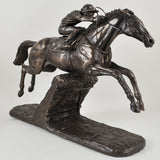 Istabraq Bronze Horse Sculpture by Harriet Glen - Prezents.com