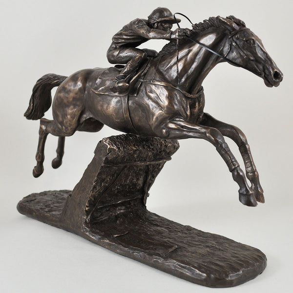 Istabraq Bronze Horse Sculpture by Harriet Glen - Prezents  - 1