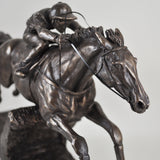 Istabraq Bronze Horse Sculpture by Harriet Glen - Prezents  - 6