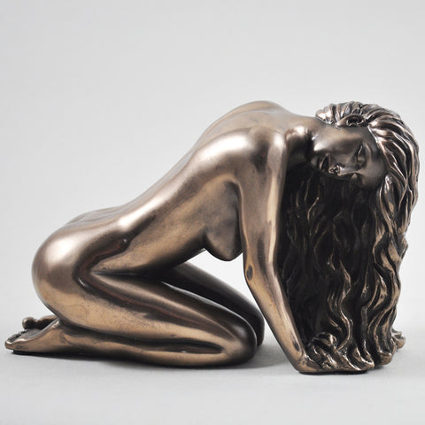 Suggestion Cold Cast Bronze Sculpture - Prezents.com