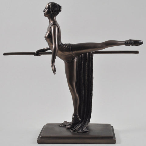 The Discipline of Ballet Training Bronze Sculpture - Prezents  - 1