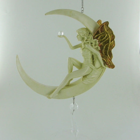Art Deco Fairy Crystal Dream Catcher - Prezents.com