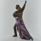 Rumba Dancers Bronze Sculpture