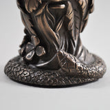 Greenman Candle Holder Cold Cast Bronze Ornament - Prezents.com