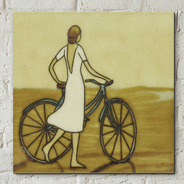 Seaside Stroll Decorative Ceramic Tile by Dominguez - Prezents  - 2