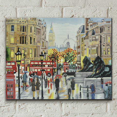 London Landscape Decorative Ceramic Tile - Prezents.com
