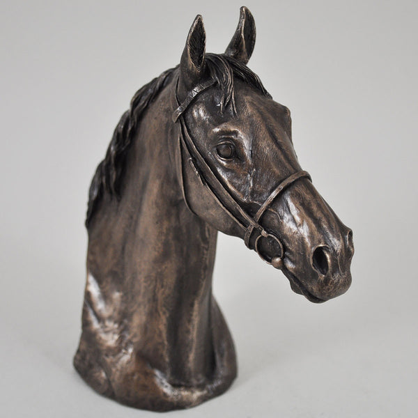 Thoroughbred Cold Cast Bronze Sculpture by David Geenty - Prezents  - 1
