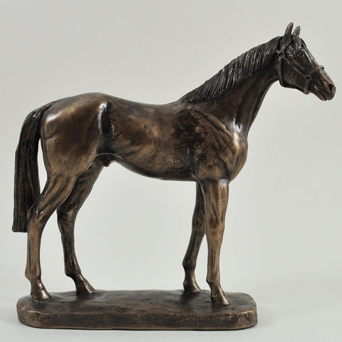 Epsom Dandy Cold Cast Bronze Sculpture by David Geenty - Prezents.com