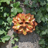 Hawthorn Greenman Garden Wall Art by David Lawrence - Prezents.com