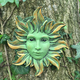 Solstice Greenman Garden Wall Art by David Lawrence - Prezents  - 1