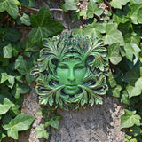 Primavera Greenman Garden Wall Art by David Lawrence - Prezents.com