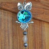 Owl Gem Wind Chime - Prezents.com
