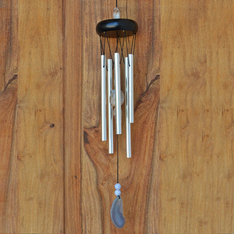 Natural Stone Wind Chime - Prezents.com