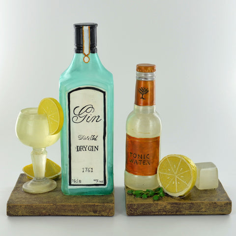 Gin & Tonic Bookends - Prezents.com