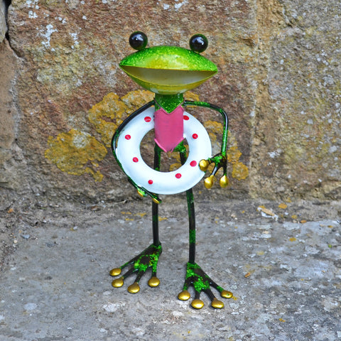 Green Frog with Rubber Ring - Prezents.com