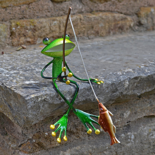 Green Frog Fishing - Prezents.com