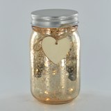 LED Firefly Jar Gold