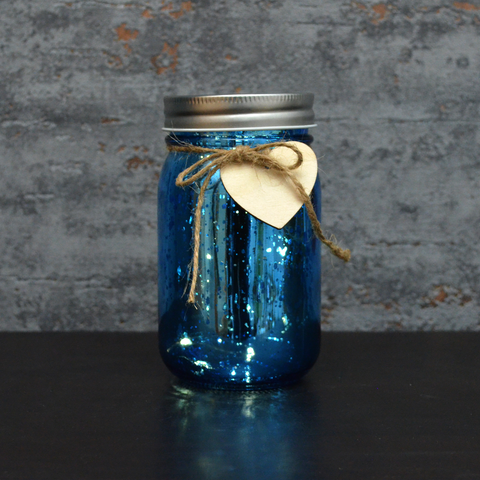 LED Firefly Jar Blue