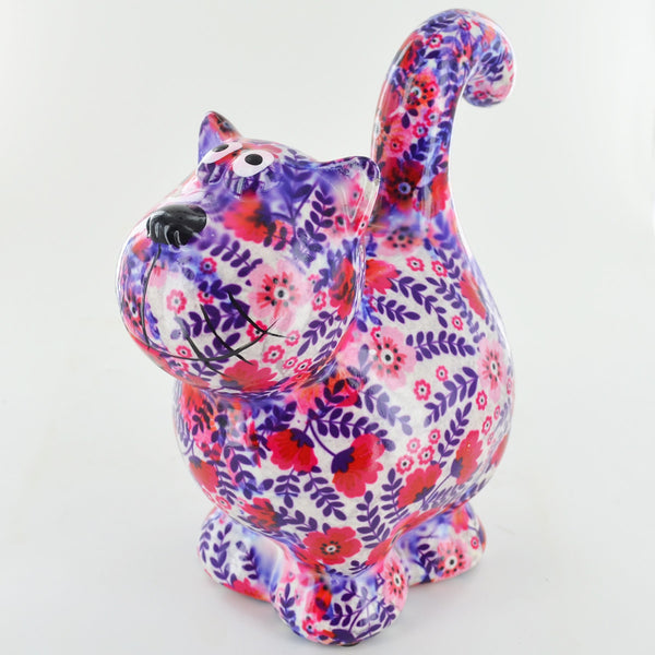 Pomme Pidou Dorothy Cat Animal Money Bank - Poppy & Fern - Prezents.com