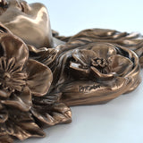 Serenity Bracket Cold Cast Bronze Wall Sculpture - Prezents.com