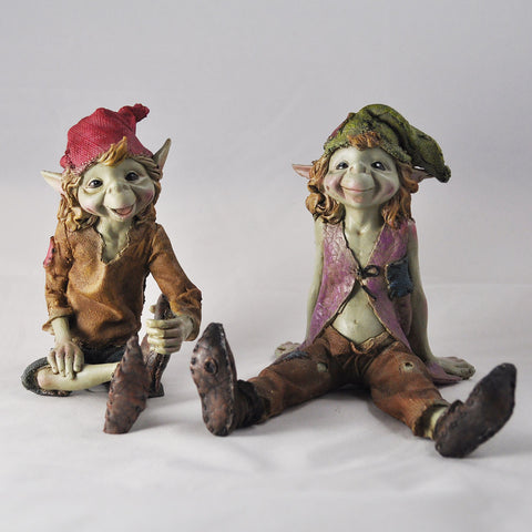 Pixies Sitting Sculptures by Tony Fisher - Prezents  - 10