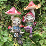 Pixies Sat Under Mushrooms by Tony Fisher - Prezents  - 2