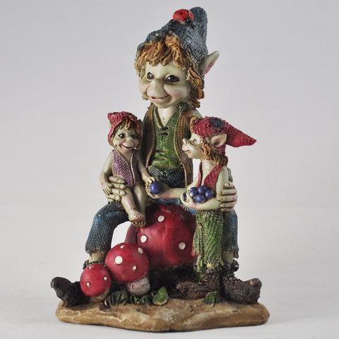 Pixies Family Sculpture by Tony Fisher - Prezents  - 1