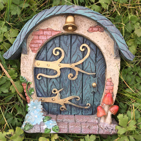 Round Woodland Fairy Door - Prezents  - 2
